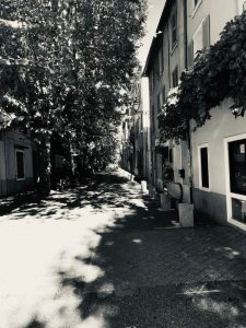Dunkle Gasse